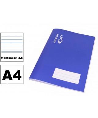 Libreta A4 Montessori 3.5 Escolofi