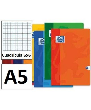 Libreta 4º 48h 9gr 6x6 OXFORD