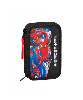 Plumier doble Spiderman