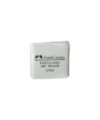 Goma moldeable blanca FABER-CASTELL