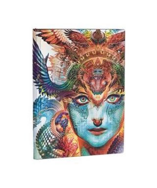 Cuaderno liso Flexis Dharma Dragon Midi