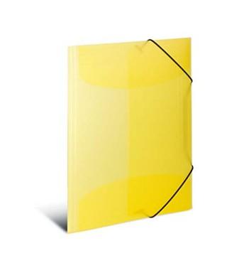 Carpeta gomas PP amarillo GRAFOPLAS