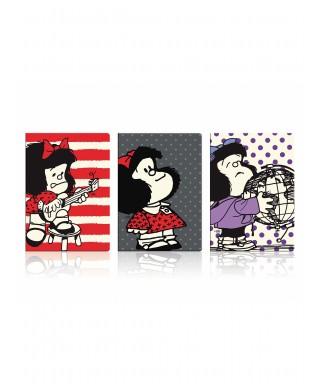 Libreta tapa blanda grande Mafalda
