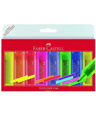 Pack 8 marcadores texliner 46 colores su