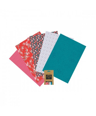 Pack 5 papeles Decopatch 2