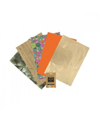Pack 5 papeles Decopatch 10