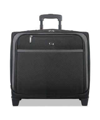 Maleta trolley negro portatil 16'