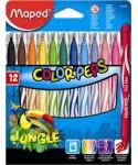 C/12 rotuladores color'peps jungle