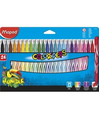 C/24 rotuladores color'peps jungle