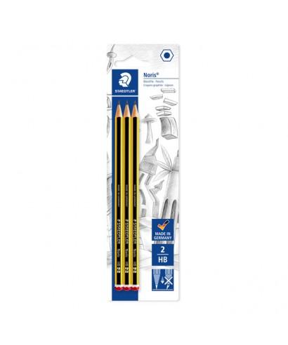 Blister 3 lápices Noris 120-2 HB