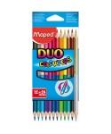 C/12 lápices de colores duo color'peps