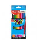 C/12 lápices de colores color'peps Maped