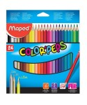 24 Lápices de colores surtidos Maped