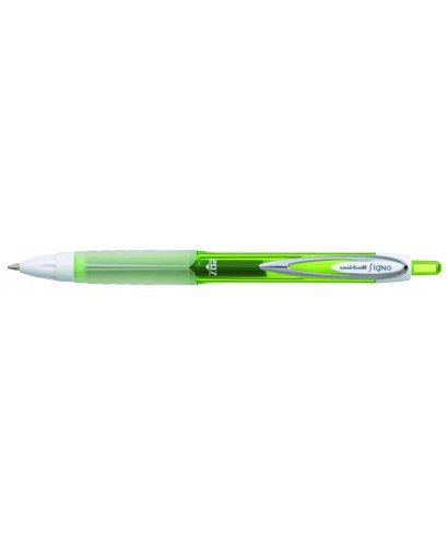Bolígrafo ub-207, verde UNIBALL