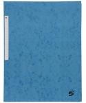 Carpeta cartón A4 con solapas azul