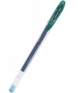 Bolígrafo um-120, verde UNIBALL