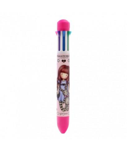 Bolígrafo de 8 colores Gorjuss