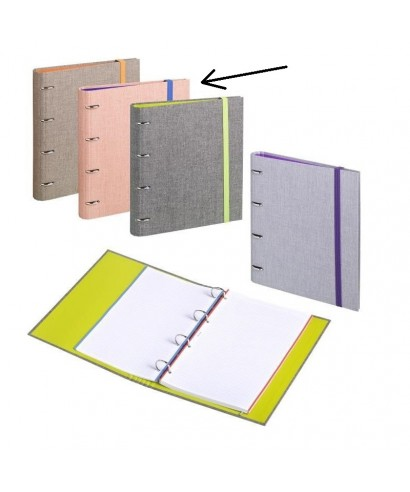 Carpebook A4 venture tela salmón