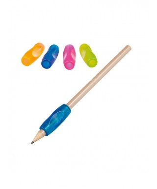 Gomas ergonómicas para lápices