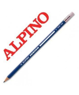 Lápiz con goma HB Alpino Junior