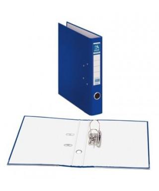 Archivador dos anillas y palanca tamaño folio azul