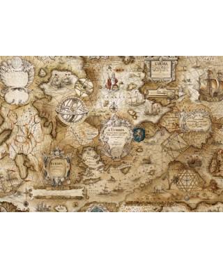 Sailing map Hojas de papel