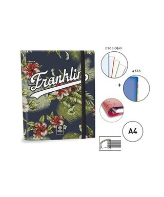 Ringbook A4 30mm Franklin