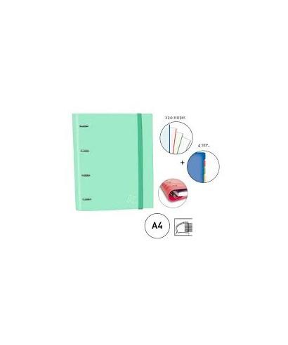 Carpebook verde menta pastel