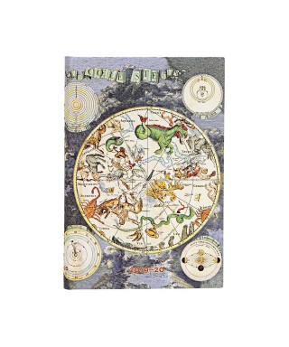 Agenda 18 meses 19/20 Planisferio Celeste.PAPERBLANKS
