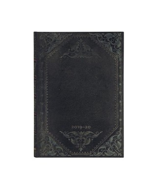 Agenda 18 meses 19/20 Midnight steel Max. PAPERBLANKS