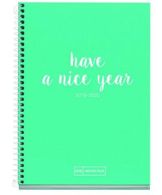 "Ag. escolar 117x174 D/P "" have a nice year"". MIQUELRIUS"