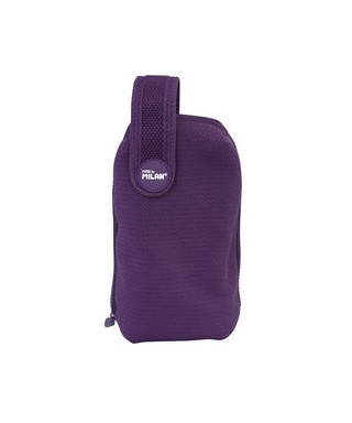 Kit con portatodo extraible Knit violeta