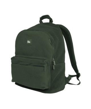 Mochila escolar 21l Knit verde