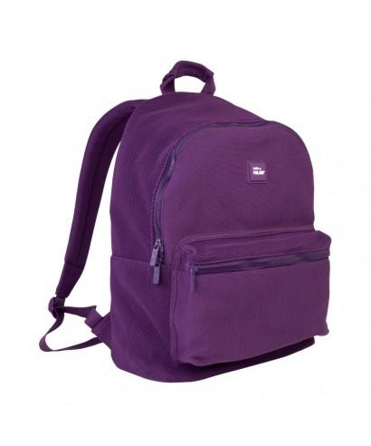 Mochila escolar 21l Knit violeta