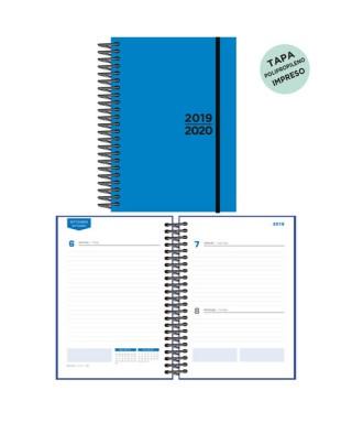 Agenda escolar 19/20 D/P azul
