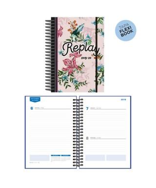 Agenda escolar 19/20 D/P Replay rosa