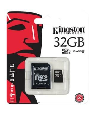 TARJETA DE MEMORIA MICROSD KINGSTON 32GB