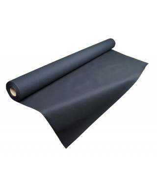 Rollo papel 1x25m color negro