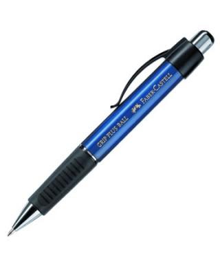Boligrafo Grip Plus cuerpo azul- FABER -
