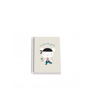 Cuaderno colorear aldeas infantiles pira