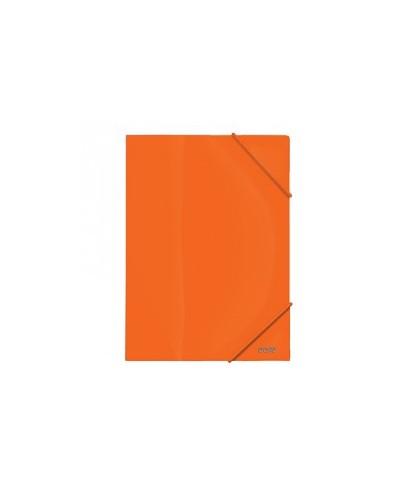 Carpeta A4 PP 600 micras naranja