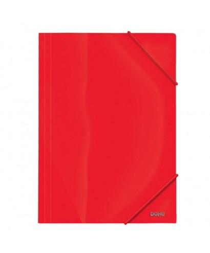 Carpeta A4 PP 600 micras rojo