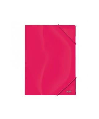 Carpeta A4 PP 600 micras rosa