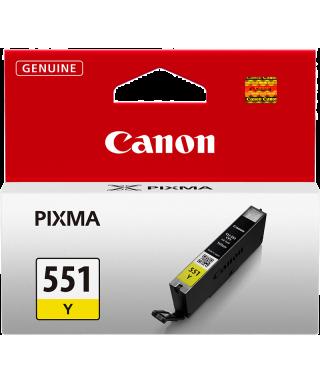 Cartucho amarillo Canon 551