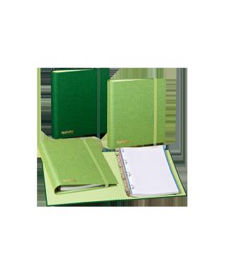 Carpebloc A4- 4 anillas- verde. CARCHIVO