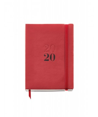 AGENDA PLUS D-P FLEX rojo