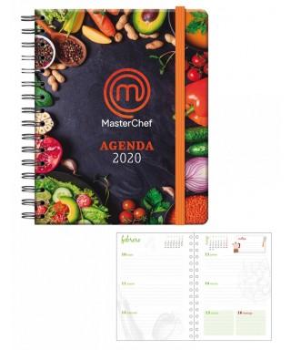 Agenda Master Chef - S-V- 15 x x 21 cm. DOHE