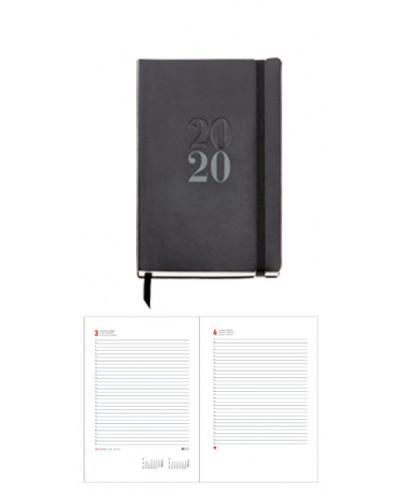 Agenda 2020 d-p passport flexible negra.. MIQUELRIUS