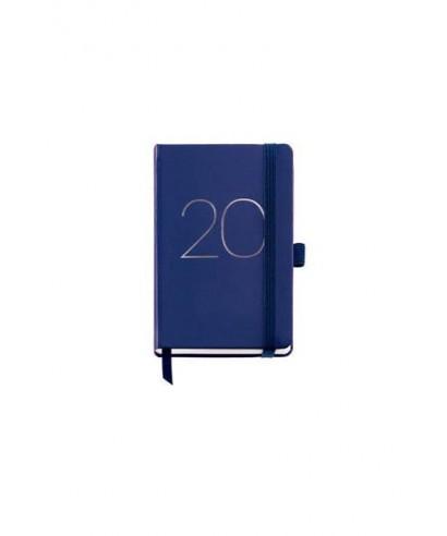 Agenda anual cosida s-v chester azul. MIQUELRIUS