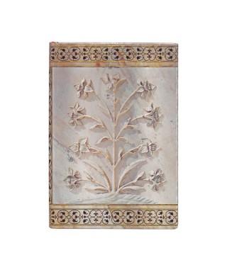 Cuaderno AJ MAHAL FLOWERS AGRA MINI. Paperblanks